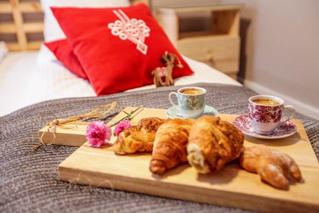 Romantyczne  śniadanie w AparHotel Bory6a w Jaszczurówce