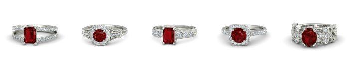 f7c515004a1bbf Pierścionek zaręczynowy a osobowość i styl: rubiny [TRENDY 2017 ...