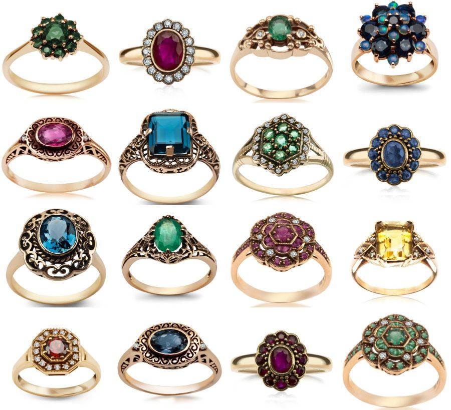 6531a98fe3abc1 Pierścionek zaręczynowy a osobowość i styl: vintage [TRENDY 2017 ...